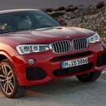 2017 BMW X4 SAV has a powerful presence