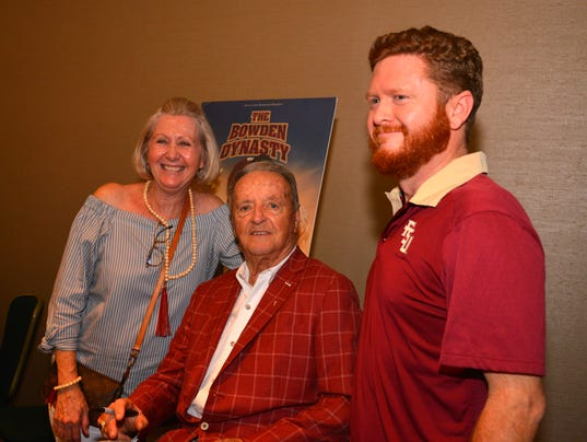 Bobby Bowden in town