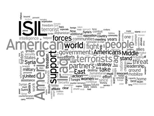 Obama Word Cloud