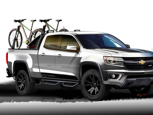 Chevrolet'??s Colorado Sport Concept was unveiled at the State Fair of ...