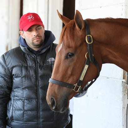 Trainer Brad Cox grew up at Churchill Downs. Now he's got his first shot at Kentucky Oaks