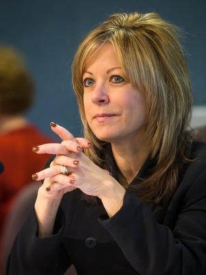 Glendale Assistant City Manager Julie Frisoni.