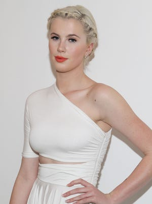 Ireland Baldwin attends a fashion show in 2014.