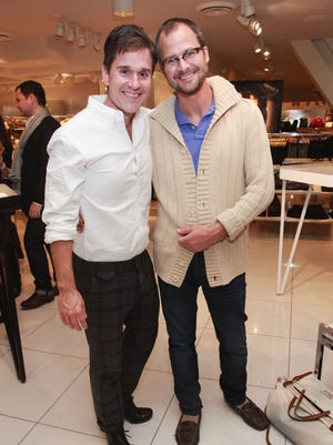 Brent Ridge and Josh Kilmer-Purcell of The Beekman Boys will be at Sunday's Celebrity Chefs' Brunch at Hercules Plaza.