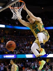 Notre Dame guard/forward Pat Connaughton posted the
