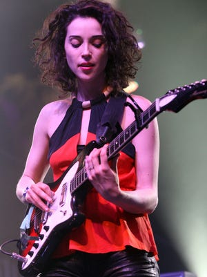 St. Vincent will perform on May 29 at Old National Centre.