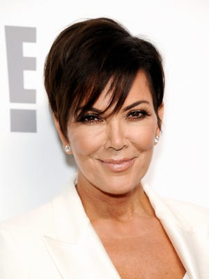 "Kris Jenner told ""People"" that she filed paperwork to trademark the word 'Momager.'"