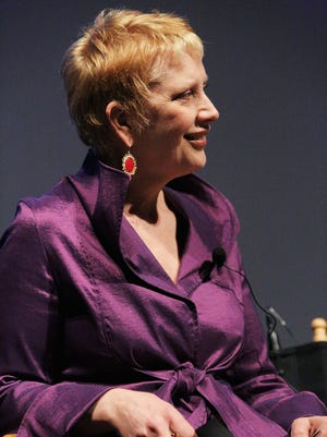 """Met Opera radio host Margaret Juntwait speaks at Tribeca Talks After the Movie: """"Wagner's Dream"""" during the 2012 Tribeca Film Festival at the School of Visual Arts Theater on April 25, 2012 in New York City.  (Photo by Astrid Stawiarz/Getty Images)"""