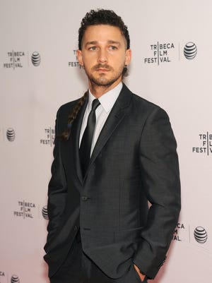 Shia LaBeouf attends the premiere of 'Love True' during the 2015 Tribeca Film Festival on April 16.