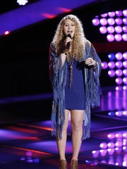 """Georgia native Bay Brooks appeared on """"The Voice"""" earlier this year."""