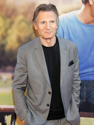 "Liam Neeson attends the New York premiere of ""Ted 2"" at the Ziegfeld Theater on June 24, 2015 in New York."
