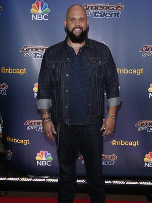 """Benton Blount of Greenville performs in the semifinals of NBC's """"America's Got Talent"""" on Tuesday."""
