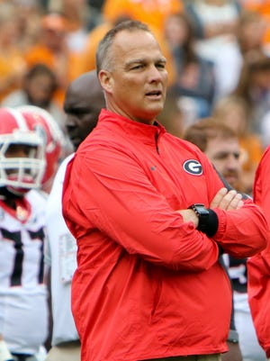 Former Georgia Bulldogs head coach Mark Richt.