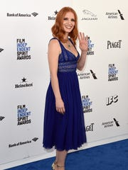 Spirit Awards Honorary Chair Jessica Chastain arrives