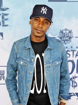Jerrod Carmichael attends the New Era Pool House at MLB All-Star Week at Palomar Hotel on July 12, 2016, in San Diego, Calif.