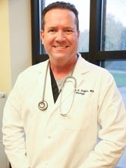 Dr. Timothy Duffin of Clarksville Urology Center poses