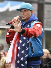 """Vanilla Ice performs live on stage for NBC's """"Today"""""""