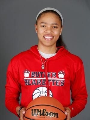 Butler High School basketball player Jaelynn Penn. Nov. 7, 2016.