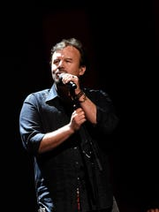 Mark Hall of Casting Crowns performs onstage during the 3rd Annual KLOVE Fan Awards at the Grand Ole Opry House on May 31, 2015, in Nashville, Tennessee. (Photo by Rick Diamond/Getty Images for KLOVE)