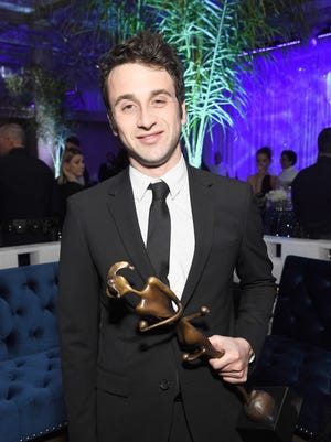"""""""La La  Land"""" composer Justin Hurwitz, shown at the after-party for the 28th Annual Palm Springs International Film Festival Film Awards Gala, went to Nicolet High School."""