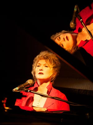 Jazz singer/pianist Dena DeRose performs with her trio on Friday in Johnson City.