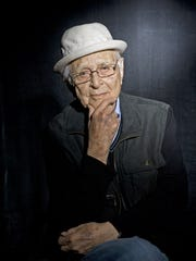 Norman Lear poses for a portrait on day 3 of Ebertfest 2017 on April 22, 2017 in Champaign, Illinois.