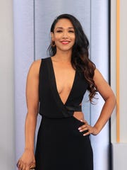Candice Patton reps another DC Comics project: CW's 'The Flash.'