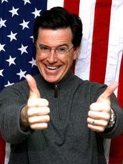 Stephen Colbert said he was going to be president in
