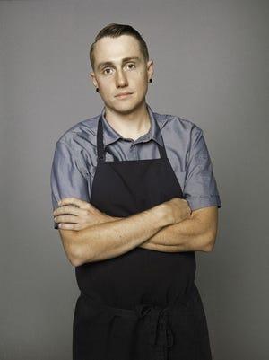 Justin Uchtman, executive chef at Sartre.