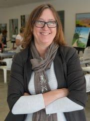 Create Art Center founder Deborah Ann Mumm is photographed during a class in Palm Desert, Calif., November 14, 2017.