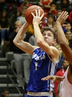 Hamilton Southeastern's Nick Bowman led the Royals on a furious comeback to overcome an eight-point deficit against North Central.