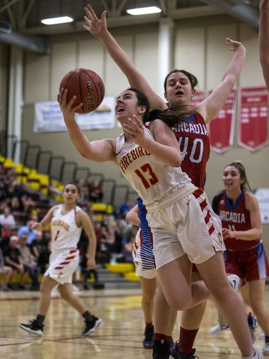 Chaparral vs. Arcadia girls basketball
