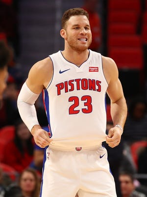 The Pistons are 5-3 with Blake Griffin in the lineup.