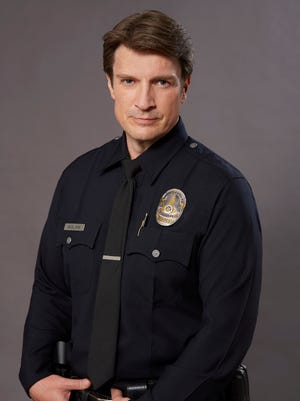 """""""The Rookie"""" (ABC): After a life-changing incident, John Nolan (Nathan Fillion, """"Castle"""") decides to leave his small town and pursue his dream of becoming an LAPD officer."""