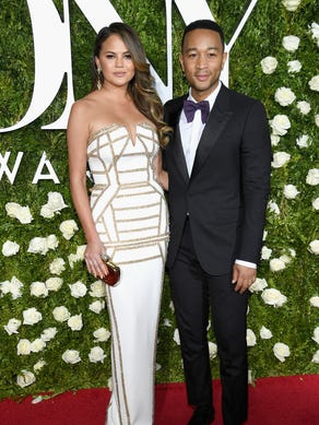 Also in June, Chrissy and John attended the Tony Awards