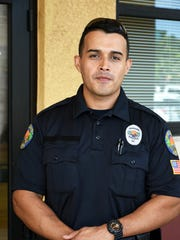 New Patrol Officer Juan Monsalve comes originally from Colombia. The Marco Island Police Department is bringing on seven new fulltime officers, plus additional reserve and community service officers.