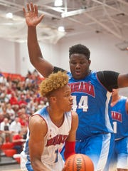 Romeo Langford looks to pass as Indiana Junior All-Star