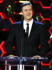 Edward Norton's time on the dais was a highlight, even