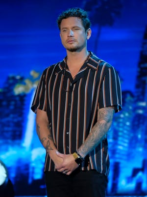 """Knoxville's Michael Ketterer as a contestant on NBC's """"America's Got Talent."""""""