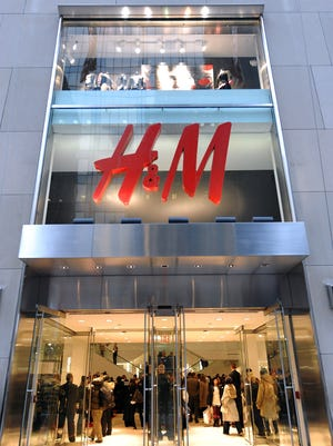 In fall 2015, retailer H&M plans to open a new Greater Cincinnati store at Eastgate Mall in Union Township. This photo is from a Comme des Garçons for H&M collection launch event in 2008 at the H&M Fifth Avenue flagship store in New York.