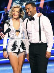 Alfonso and Witney are all smiles.
