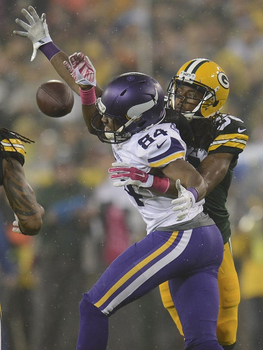 Tramon Williams, Cordarrelle Patterson