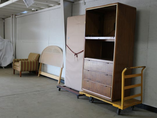 The Salvation Army's Port Clinton Service Unit held a one-time-only furniture giveaway on Saturday.