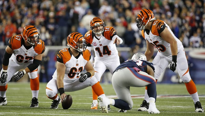 Cincinnati Bengals quarterback Andy Dalton will have his hands full in trying to solve the different looks the New England Patriots will throw at him.