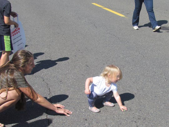 Fetching sweets at the 49th Annual Aumsville Corn Festival