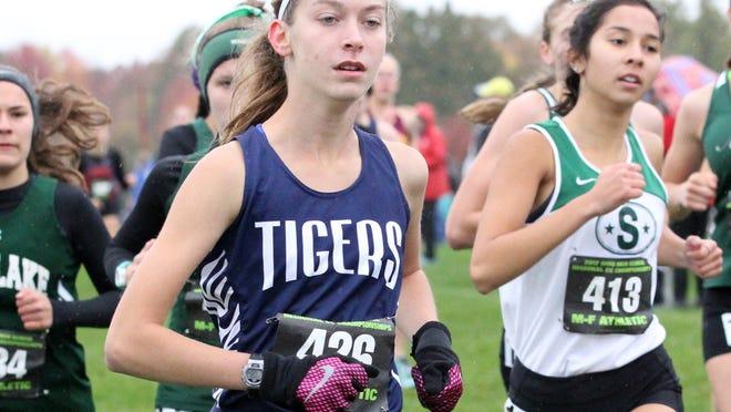 Twinsburg senior Katie Vasiliauskas will be the Tiger girls' top returning runner this fall.