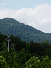 A view of Little White Oak Mountain in Columbus May