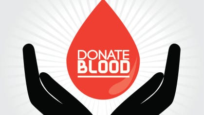 The Post-Crescent is hosting a blood drive from 9 a.m. to 3 p.m. in our office at 306 W. Washington St. in Appleton.