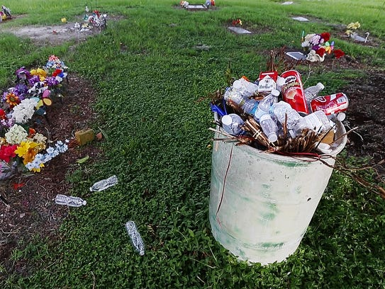 Trash went uncollected by the city for four days recently