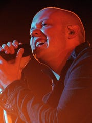 Lead singer Isaac Slade and The Fray performed at Klipsch Music Center in 2012.